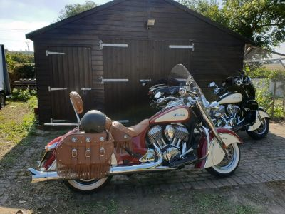 Indian Chief vintage and Roadmaster